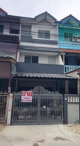 For SaleTownhouseRama 2, Bang Khun Thian : ขายทาวน์เฮ้าส์3ชั้น หมู่บ้านสินทวีแกรนด์วิลเลจ พระราม 2