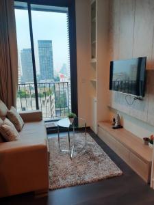 For RentCondoSukhumvit, Asoke, Thonglor : Edge Sukhumvit 23 for rent 1 bedroom 33.4 sq.m. fl.7 Fully furnished, Ready move in near BTS Asoke