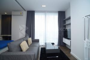 เช่าคอนโดสาทร นราธิวาส : Condo for Rent!! Nara 9 ห้องกว้าง ตกแต่งสไตล์ Modern ได้วิวแม่น้ำ เดินทางง่าย ใกล้ BTS ช่องนนทรี @19,000 Bath/Month