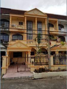 For RentTownhouseSamrong, Samut Prakan : รหัสC4316 ให้เช่าทาวน์เฮ้าส์ 3 ชั้น หมู่บ้านบุษบา2 ใกล้ BTS สถานีช้างเอราวัณ สมุทรปราการ