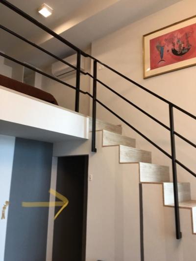 For RentCondoRama9, RCA, Petchaburi : 🔥🔥 Ideo new rama9 for rent 🔥🔥 🍀Duplex 🍀 🚩 Total room size 37 sq m. Rent 15,000