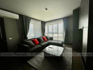 ขายคอนโดพระราม 9 เพชรบุรีตัดใหม่ : SALE !! Condo Lumpini Place, MRT Rama 9, 2 Beds, Tower D, Floor 12a, 71 sq.m., 6.6MB