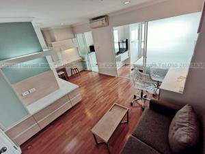 เช่าคอนโดพระราม 9 เพชรบุรีตัดใหม่ : RENT !! Condo Lumpini Place, MRT Rama 9, 1 Bed, D Bl., 20 Fl., Area 34 sq.m., Rent 10,000 .-