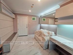 ขายคอนโดพระราม 9 เพชรบุรีตัดใหม่ : SALE !! Condo Lumpini Place, MRT Rama 9, 1 Bed, Tower B, Floor 14, 37 sq.m., 2.75MB