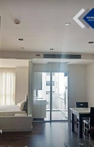 For SaleCondoOnnut, Udomsuk : M3670-Condo for sale and rent, The Room Sukhumvit 62, near BTS Punnawithi. There is a washing machine. Fully furnished, ready to move in
