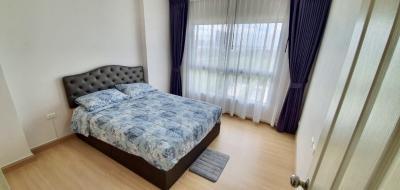 เช่าคอนโดพระราม 9 เพชรบุรีตัดใหม่ : ย่านพระราม 9 ปล่อยเช่าถูกๆ condo for rent 1 bed 38.5 sqm. 11,500฿/month