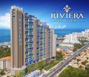 For SaleCondoPattaya, Bangsaen, Chonburi : Riviera Jomtien one bedroom PROMOTION