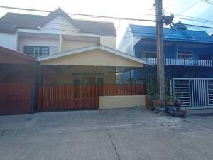 For SaleHouseRamkhamhaeng,Min Buri, Romklao : บ้านแฝด 2ชั้น #หมู่บ้านฉัตรหลวง ถนนราษฏร์อุทิศ 54 คู้ขวา ถนนเมน Renovate ใหม่