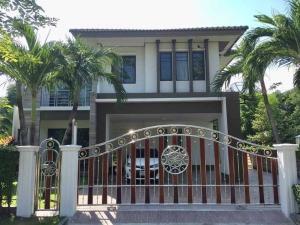 ขายบ้านนวมินทร์ รามอินทรา : ⭐🚩ขายบ้านเดี่ยว หมู่บ้านฮาบิเทีย 2 ถนนปัญญาอินทรา (H1271)Habitia Panyaintra 2