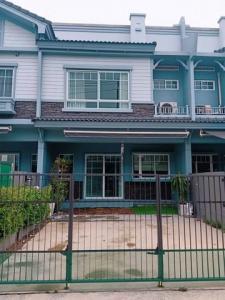 For RentTownhouseSamrong, Samut Prakan : RTJ794ให้เช่า ทาวน์เฮาส์โครงการ Indy2 ศรีนครินทร์ใกล้ตลาดทรัพย์บุญชัย 1.7 กม.