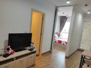 For RentCondoBangbuathong, Sainoi : W0179# ให้เช่าคอนโด ดิไอริส เวสเกต บางใหญ่ ชั้น3 ห้องขนาด 24.5 ตร.ม.