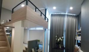 For RentCondoRama9, RCA, Petchaburi : LC42130320 ให้เช่า/For Rent Condo Chewathai Residence Asoke (ชีวาทัย เรสซิเดนซ์ อโศก) 1นอน 34ตร.ม ห้องDuplex เฟอร์ครบ พร้อมอยู่