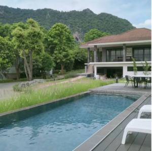 For SaleHouseKorat KhaoYai Pak Chong : ขายบ้านพักเขาใหญ่ โครงการเขาลอย รีสอร์ต พญาเย็น อำเภอปากช่อง นครราชสีมา(ติดเจ้าของ)