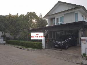 ขายบ้านพระราม 2 บางขุนเทียน : ขายบ้านเดี่ยว Inizio อินนิซิโอ พระราม 2 หลังมุม 63 ตร.ว ราคาถูก (S022021)