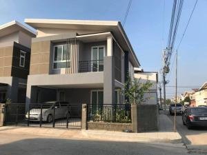 For RentHouseRangsit, Patumtani : รหัสC4325 ให้เช่าบ้านเดี่ยว 2ชั้น หมู่บ้านเดอะแกรนด์ ไทยสมบูรณ์3 ถนนเลียบคลอง3 ปทุมธานี