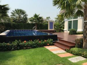 For SaleHouseRama5, Ratchapruek, Bangkruai : CH317-BH-SE ขายบ้านเดี่ยวหรู แปลงมุม พฤกษ์ภิรมย์ ราชพฤกษ์-รัตนาธิเบศก์ Luxury บ้านสวยมากครับ พร้อมสระน้ำระบบเกลือ