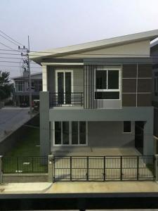 For RentHouseRangsit, Patumtani : RHT561ให้เช่าบ้านหมู่บ้านเดอะแกรนด์ ไทยสมบูรณ์ 3 หลังริม คลองสาม รังสิต คลองหลวง