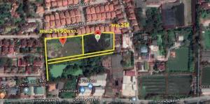 For SaleLandEakachai, Bang Bon : Land for sale 5 rai 25 sq.wa., Bangbon Road 5 /5 (12,345 baht/sq.wa) (No brokers accepted)