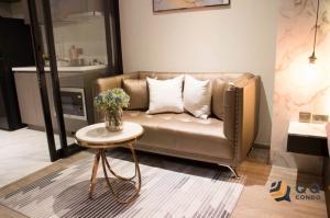 For RentCondoSukhumvit, Asoke, Thonglor : For rent  Rhythm Ekkamaii - Studio, size 31 sq.m. Beautiful room, fully furnished.