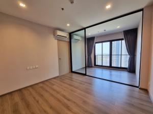 For RentCondoRattanathibet, Sanambinna : ให้เช่าห้องเปล่า The Politan Rive แบบ 1 Bed ขนาด 31 ตรม ชั้น 32 วิวทิศเหนือ ไม่ร้อนบ่าย ตำแหน่งใกล้แม่น้ำ