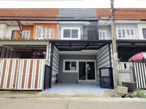 ขายบ้านบางใหญ่ บางบัวทอง ไทรน้อย : บ้านบัวทอง 4 นนทบุรี พื้นที่ใช้สอย 110 ตารางเมตร ตกแต่งใหม่ 2 นอน 1 น้ำ บ้าน 2 ชั้น เพียง 1.5 ล้านบาท ฟรีโอน