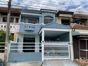 For SaleTownhouseRamkhamhaeng,Min Buri, Romklao : For Sale : Townhouse 2 floors, area 24 sq m. 🌈 Manthira Village Rat Phatthana Road