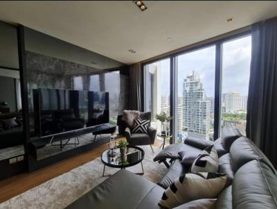 For RentCondoSukhumvit, Asoke, Thonglor : For Rent & Sale Beatniq Sukhumvit 32 ( บีทนิค สุขุมวิท 32 )- 2 bedrooms, 1 work office room, 3bathrooms,  20th Floor - Size 107.61 sq.m