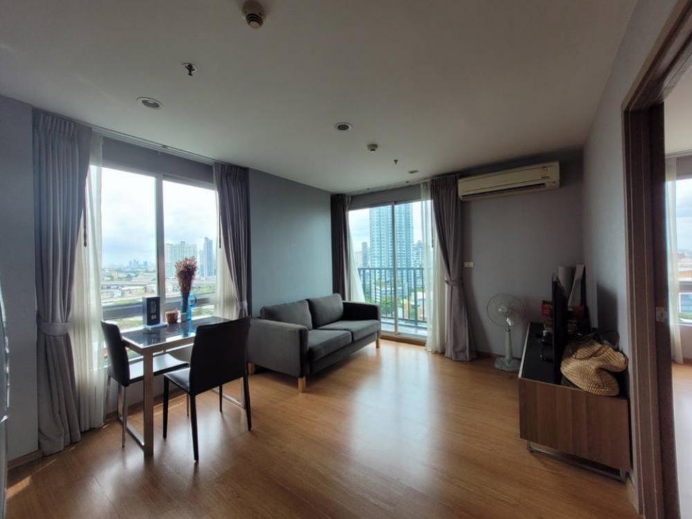 ขายคอนโดอ่อนนุช อุดมสุข : 🍀 The Base 77, 1 Bedrooom 37 sqm, ⭐️High floor, Open view to Canal, ⛩Nearby Thonglor For sale @ 4.0 MB 💸Sales with tenant