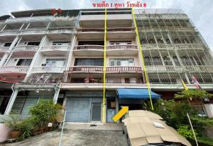 For SaleShophousePinklao, Charansanitwong : ขายตึกแถว 5 ชั้น ซอยวังหลัง 8 เนื้อที่ 17 ตร.ว. ใกล้ศิริราช เดินทางสะดวก