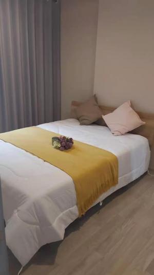 For RentCondoBangna, Lasalle, Bearing : For rent ! ปล่อยเช่ทคอนโดสุขุมวิทบางนา 🔥 ideo mobi sukhumvit eastpoint (ไอดีโอ โมบิ สุขุมวิท อีทพ้อยท์) บางนา 1 bed 33 ตร.ม 12,000/เดือน แต่งครบพร้อมเข้าอยู่