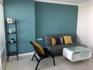 For SaleCondoRama9, RCA, Petchaburi : For sale: Condominium LPN Place Rama 9, building A, 1 bedroom, 37 sq.m. 12th flr, east side