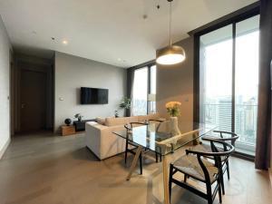 เช่าคอนโดพระราม 9 เพชรบุรีตัดใหม่ : ให้เช่า 2 ห้องนอน The Esse At singha complex 55,000
