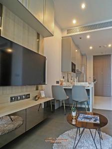 For RentCondoRama9, RCA, Petchaburi : 1 bedroom condo at The Esse at Singha Complex for rent only THB 20,000.- a month