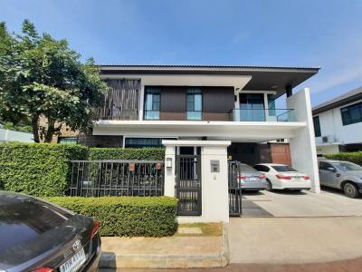 For SaleHouseChengwatana, Muangthong : ขาย บ้านเดี่ยว นันทวัน แจ้งวัฒนะ-ราชพฤกษ์
