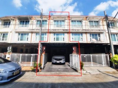 For SaleTownhouseChengwatana, Muangthong : ขายทาวน์โฮม 3 ชั้น หมู่บ้านสิรสา ซอยแจ้งวัฒนะ 6