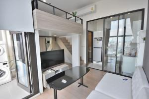 For RentCondoRama9, RCA, Petchaburi : ชีวาทัย เรสซิเดนซ์ อโศก ชั้น28 วิวสวย ห้องสวยสไตล์ Loft Duplex ทำเลเยี่ยมใจกลางเมือง 🔥 For Rent 🔥