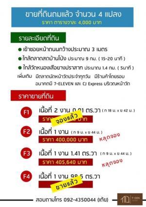 For SaleLandRatchaburi : ขายที่ดินถมแล้ว