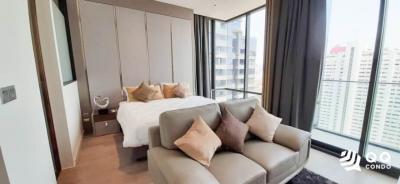 For RentCondoSilom, Saladaeng, Bangrak : For rent  Ashton Silom - 1bed, size 35 sq.m. Beautiful room, fully furnished.