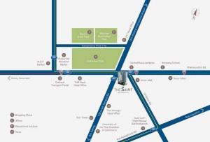 For RentCondoLadprao, Central Ladprao : ให้เช่าคอนโดใหม่ The Saint Residences 2-Bed ชั้นสูง ตกแต่งครบพร้อมอยู่ เดือนกันยายน 2564