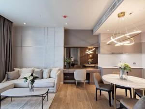 เช่าคอนโดวงเวียนใหญ่ เจริญนคร : (N521)🟢🟢Magnolias Waterfront Residence🟢🟢 ห้องตกแต่งสวยมาก เฟอร์เครื่องใช้ไฟฟ้าครบครัน พร้อมอยู่
