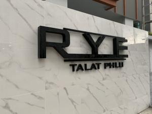 Sale DownCondoThaphra, Wutthakat : ขายดาวน์ Rye ตลาดพลู