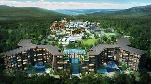 For SaleCondoKorat KhaoYai Pak Chong : Selling  B7-E6, 7th floor, beautiful corner room, 35.5 sq.m. 1 bedroom Khao Yai Foresta - Khaoyai Foresta