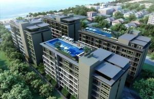 For SaleCondoPattaya, Bangsaen, Chonburi : Covid price reduction Condo for sale, cheap price, spacious room