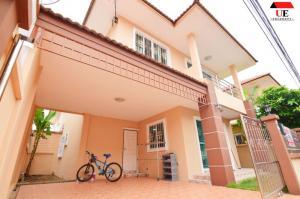 ขายบ้านสำโรง สมุทรปราการ : ขายบ้านเดี่ยว ม.สุริยา เพอร์เฟค บางนา กม.5-ศรีนครินทร์ เนื้อที่ 36 ตร.ว.บ้านสวยสภาพดี ใกล้ทางด่วน
