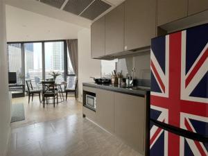 For RentCondoRama9, RCA, Petchaburi : For Rent Condominium Ashton Asoke - Rama 9 68.52 sq.m near Rama 9 MRT Station (230 m)