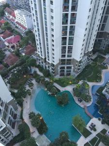 For RentCondoRama9, RCA, Petchaburi : Belle Grand Rama 9 for rent 2 bed