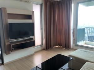 For SaleCondoSathorn, Narathiwat : Rhythm Sathorn for sell 12.9MB. 2 bedroom 64 sq.m. fl.38 Fully furnished, Ready move in near BTS Chongnonsri