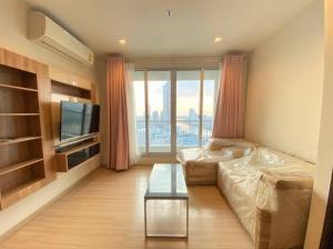 For SaleCondoSathorn, Narathiwat : Rhythm Sathorn for sell 11MB. 2 bedroom 66 sq.m. fl.33 Fully furnished, Ready move in near BTS Chongnonsri