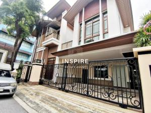 For RentHouseOnnut, Udomsuk : Single House in the luxurious compound at Sukhumvit Area