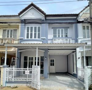 For SaleTownhouseRathburana, Suksawat : ขาย ทาวน์เฮ้าส์ 2 ชั้น มือสอง หมู่บ้านบุศรินทร์ ประชาอุทิศ 129